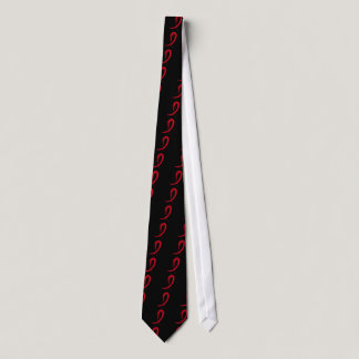 Heart Disease's Red Ribbon A4 Tie