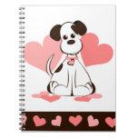 Heart Dog Notebook