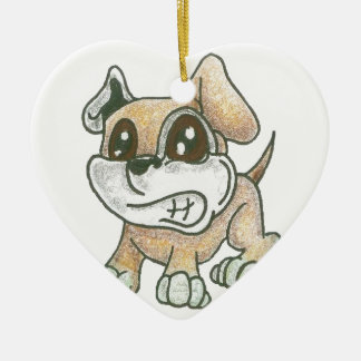 Heart Dog Ornament - TOWT Mascot Cute Dog