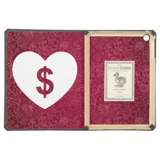 Heart Donations Pictograph iPad Air Cover