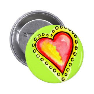 Heart Dot Dot Dot Button