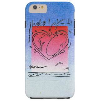 Heart drawing iPhone 6 Plus, Tough case