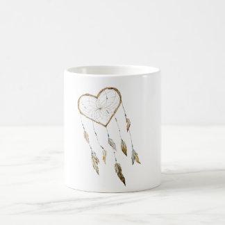 Heart Dream Catcher Coffee Mug