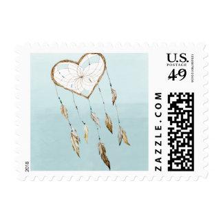 Heart Dream Catcher Stamp