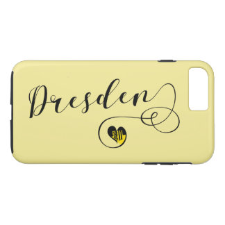 Heart Dresden Mobile Phone Case, Germany iPhone 8 Plus/7 Plus Case