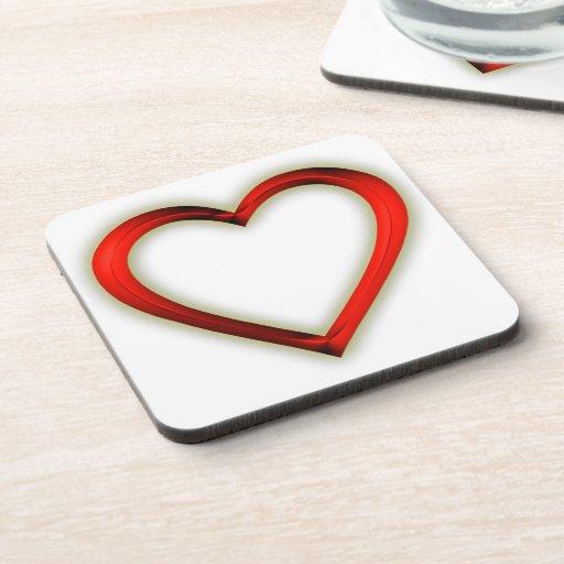 Heart Drink Coaster