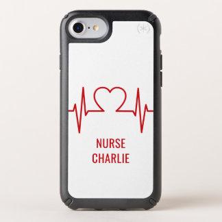 Heart EKG custom name & occupation phone cases