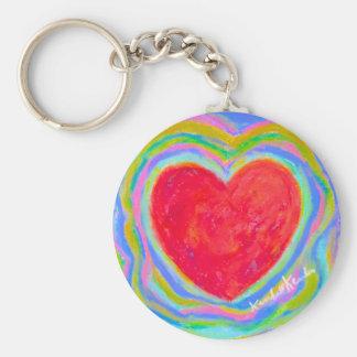 Heart Electric Keychain