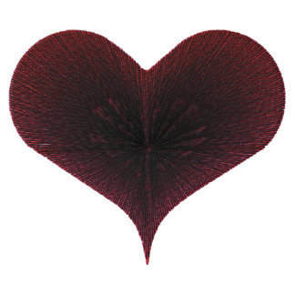 Heart Embroidered