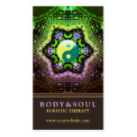 Heart Energy YinYang New Age Business Cards