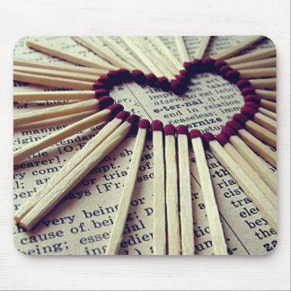 Heart Eternal Love Mouse Pad