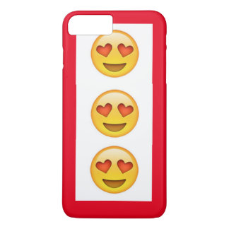 Heart Eyes Emoji iPhone 7 Case