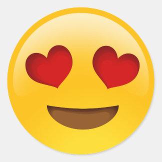 heart eyes emoji stickers