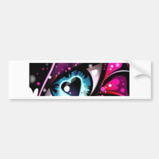 Heart Eyes for you only collection Bumper Sticker