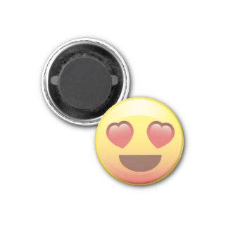 Heart Eyes Happy Love Emoji Magnet