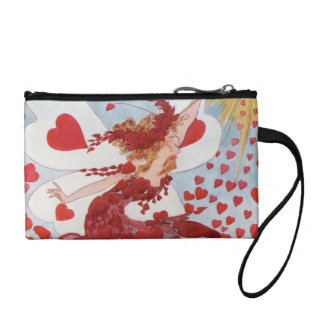 Heart fairy change purses