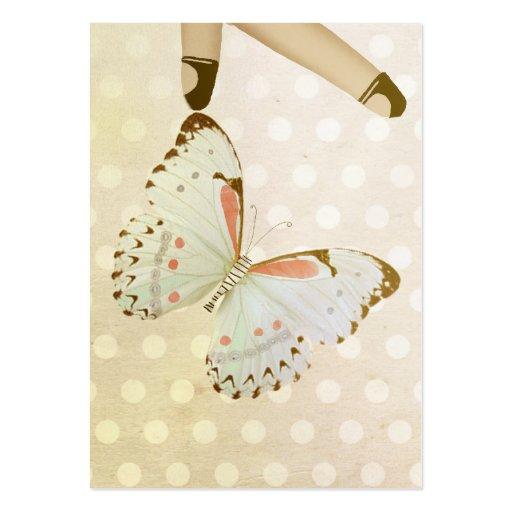 Heart fairy love sweet esthetician business cards