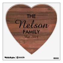 Heart Family Wall Decal