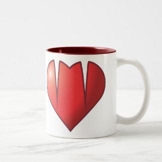 Heart Fang Logo Mug