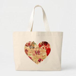 Heart Felt LOVE Large Tote Bag