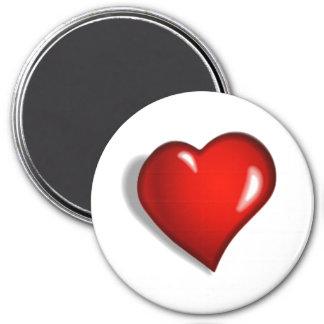 Heart Felt Magnet (Round)