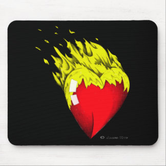 Heart Felt Mouse Pad