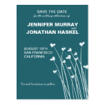 Heart Fields Save the Date Post Card