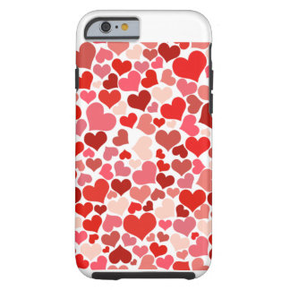 Heart filled iphone cover