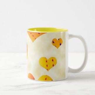 heart filled mug