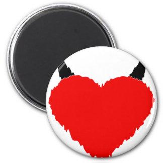 Heart-Fire-Devil Magnet