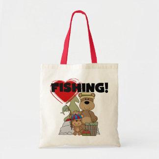 HEART Fishing Tshirts and Gifts Bag
