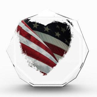 heart flag award