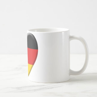 Heart flag I like Germany Coffee Mug