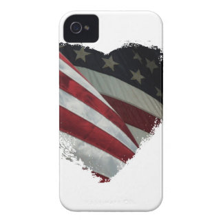 heart flag iPhone 4 case
