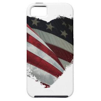 heart flag iPhone SE/5/5s case