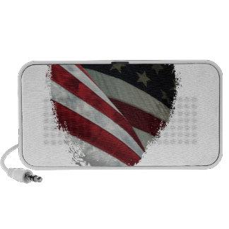 heart flag portable speaker
