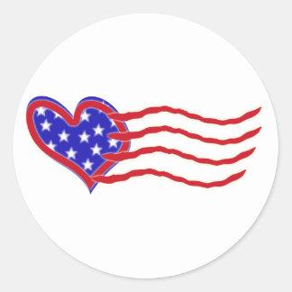 Heart Flag Sticker