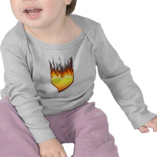 Heart Flame tilted III Shirt