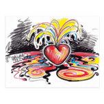 Heart Flo Postcard