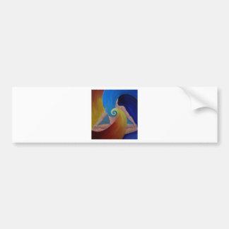 Heart Flow Meditation Bumper Stickers