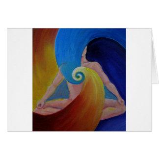 Heart Flow Meditation Greeting Cards