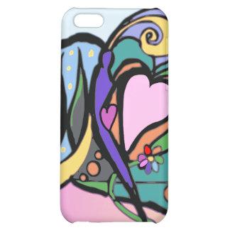 Heart flow Modern art iPhone 5C Cover