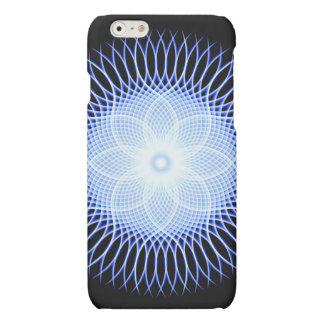 Heart Flower Mandala Matte iPhone 6 Case