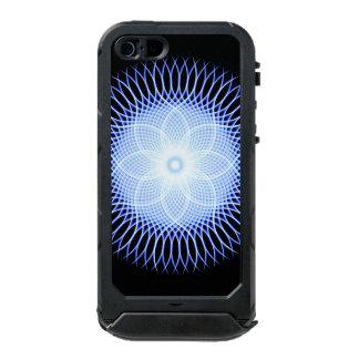 Heart Flower Mandala Waterproof Case For iPhone SE/5/5s