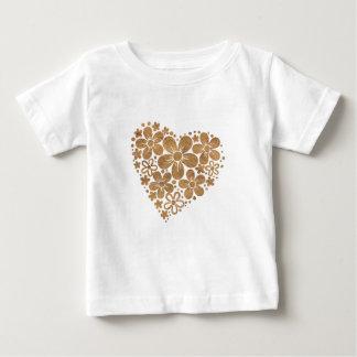 heart flowers 4 baby T-Shirt