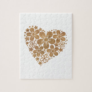 heart flowers 4 jigsaw puzzle