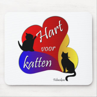 HEART FOR CATS MOUSEPAD
