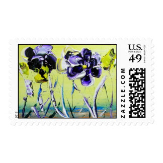 HeART For God Spring Pansy Postage