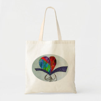 Heart for My Loved One Budget Tote Bag