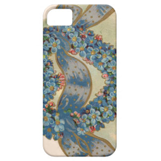Heart Forget Me Not Ribbon Floral iPhone SE/5/5s Case